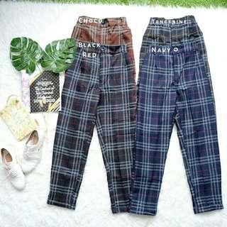 Estelle TARTAN Basic Pants