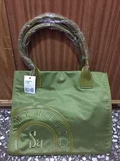 🚚 Semilla 西班牙小牛皮防水帆布包手提包