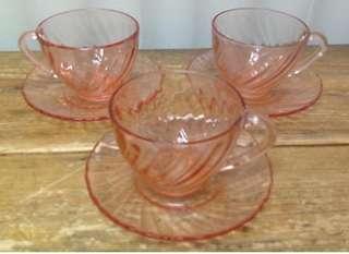 Glass coffee 6 cups