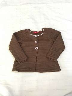 eb2e82d9bcac Sprout Baby Girls Long Sleeve Cardigan Sweater Size 1