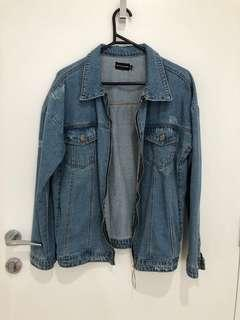 PLT light blue denim jacket