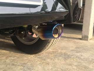 Exhaust tips sporty ekzos tip