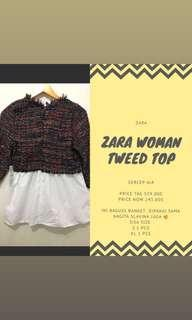 zara top woman