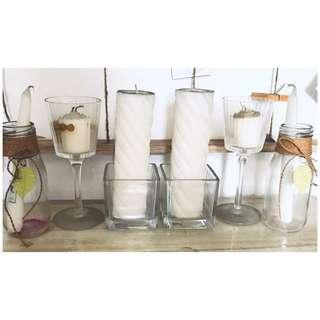 All for P499! Candles/jars