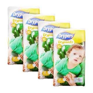 🚚 Drypers Drypantz XL 32S x 4packs