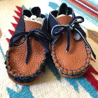 Bb鞋 鹿皮 擺設 紀念 禮物 baby shower gift 全人手做 handmade