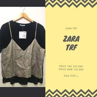 zara trf top woman