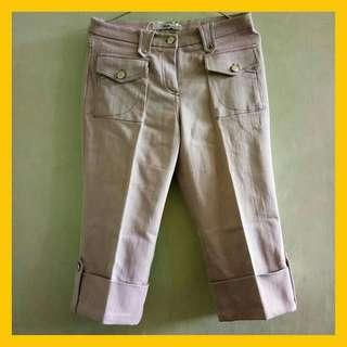 Celana jeans baby pink 3/4