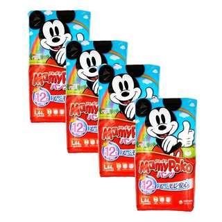 🚚 MamyPoko (Japan) Disney Mickey Pants - L (9 - 14kg) x 4packs