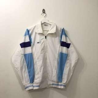 🚚 VINTAGE BLUE PEOPLE WINDBREAKER