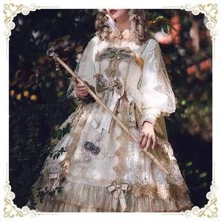 [訂製]黎明夢魘系列lolita裙花嫁華麗款南鹿鳴