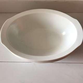 Oval Soup Bowl