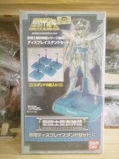 全新 日版 未開封 聖鬥士星矢 聖衣神話 青銅 神聖衣 專用 台座 5個