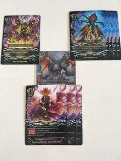 Buddyfight lost cards from violence vanity