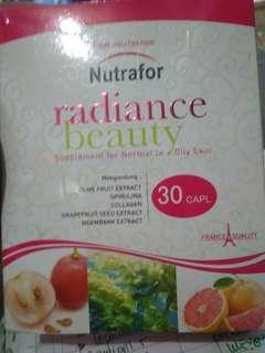 Nutrafor radiance beauty utk kulit berminyak