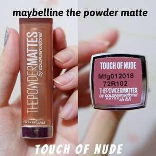 NEW❤️ MAYBELLINE The Powder Matte - Touch Of Nude