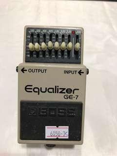 BOSS GE-7 Graphic Equalizer Guitar Effects Pedal