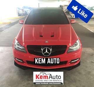 SPORTY MOD Mercedes C200K Supercharged FULL C63 AMG Bodykit / LED Headlight