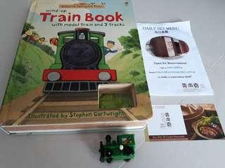 Train book & $5 voucher