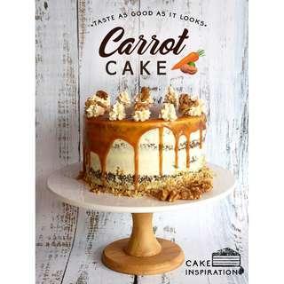 Newest! carrot walnut caramel cheesecake