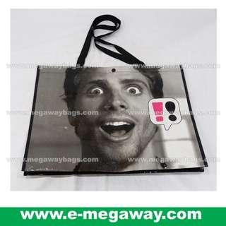 #Yourself #Face #Print #WaterProof #Coated #Laminated #Logo #Brand #Marketing #Gift #Souvenir #Social #Media #Event #Grocery #Store #Eco #Woven #Recycle #Shopping #Bag #Carrier #Bags #Megaway @MegawayBags #MegawayBags #EM-0016 #環保袋 #購物袋 #禮品袋 #促銷袋