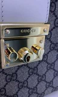 Protective Film For Gucci Padlock Gold Hardware