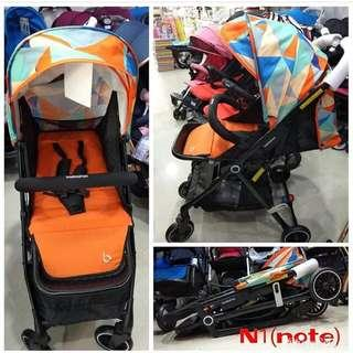🚚 BNIB Stroller Baobaohao Orange