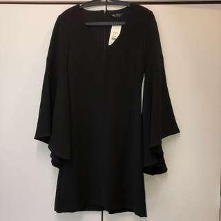 Miss Selfridge Bell Sleeve Dress