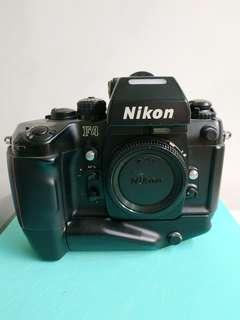 Nikon F4S in great condition with MB-21
