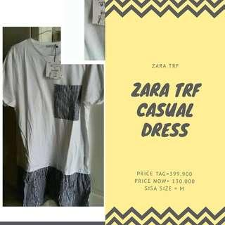 zara trf dress