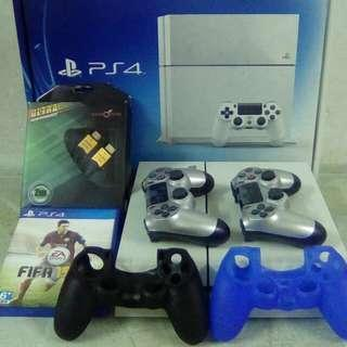 PS4 500GB Full Set With Box