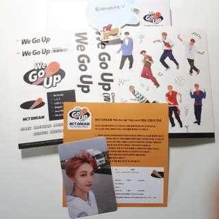 nct dream 'we go up' 2nd mini album + jisung pc