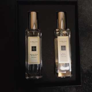 [昇恆昌購入]全新 Jo Malone 英國梨+藍風鈴 暢銷香水 便宜出售 英國奢華品牌 禮盒 30ml