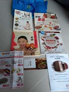 Cooking book & $5 Vouchers