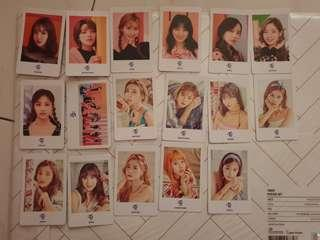 Twice one more time and bdz photocard