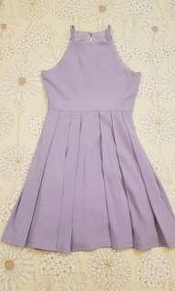 TTR Perwinkle Halter Dress
