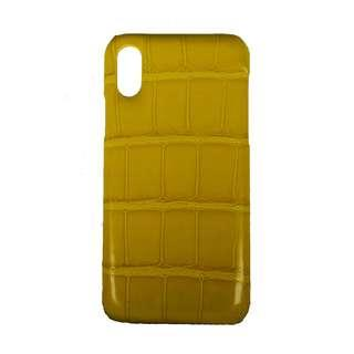 Crocodile Leather Phone Case