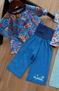 全新現貨90/100碼日本Tomy護肚睡衣套裝