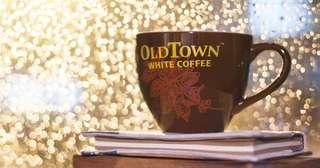 🚚 🆕😍☕ BUY 1 FREE 1 Old Town Coffee Mug 😍☕🆕