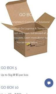 Go Box Parcel Delivery Solution