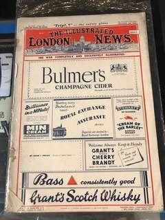The Ilustrated London News (vintage magazine)