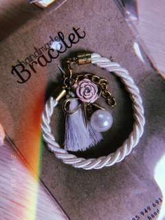 🚚 Handmade Vintage Rose Bracelet