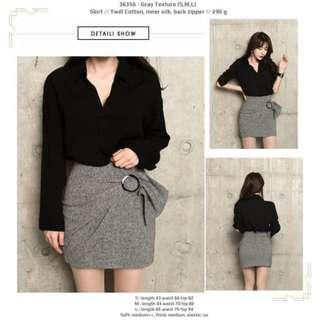 Skirt 36356 - Gray Texture