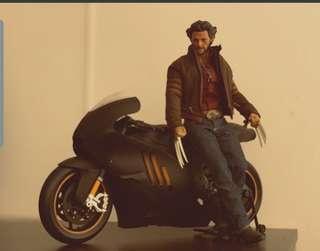 1/6 Wolverine and Motor Bike bundle