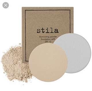 🚚 Stila Illuminating Powder Foundation refill (10 Watts)