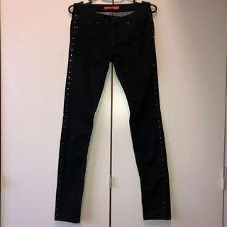 Six Angels Studded Black Jeans