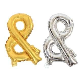 16 inch foil Gold silver balloon Party decoration & symbol