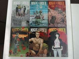 🚚 Magic Order (2018 Image) Comics Set