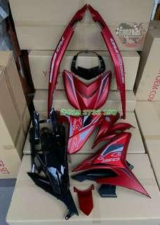 COVERSET YAMAHA Y15ZR EXCITER RC 2019 MERAH MATTE
