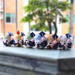 🌈畢業角落生物 (每隻)#角落生物 #日本 #畢業 #大學 #公仔 #玩具